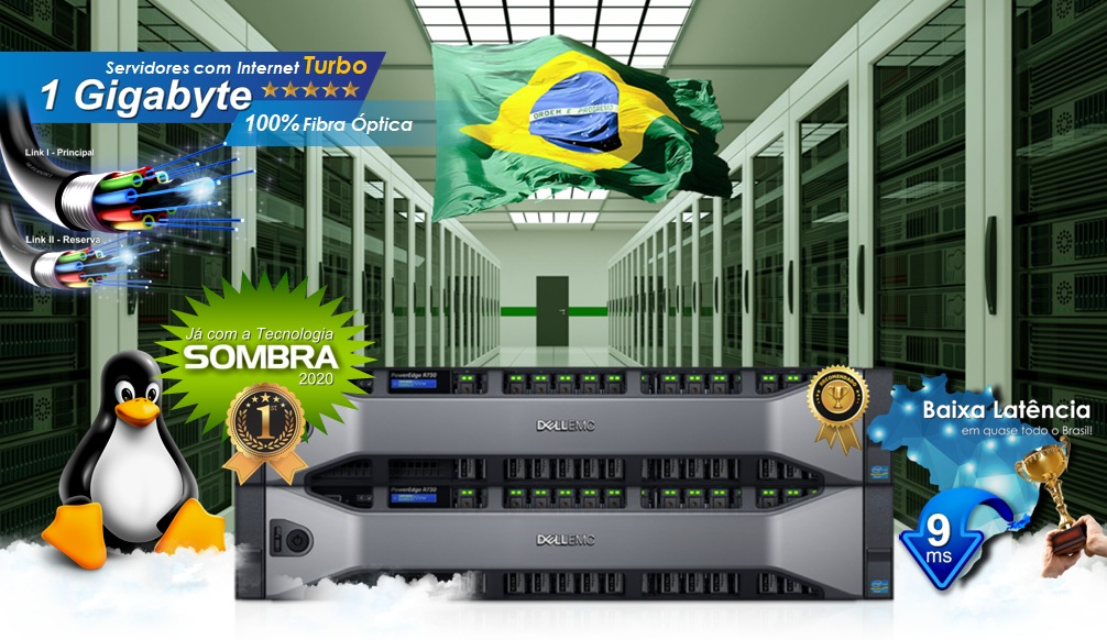 Cloud Server Brasil gratuito Linux
