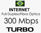 Link de Internet 300 Mbps TURBO Full Duplex